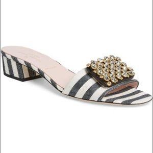 Kate Spade mazie crystal embellished slide sandal